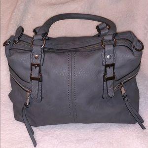 GRAY sole society purse